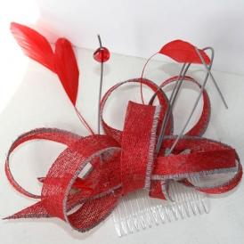 Ginko Biloba - Boucles, rouge et gris