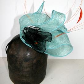 Jacinthe - Turquoise et orange