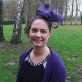 Jacinthe - Violet et strass