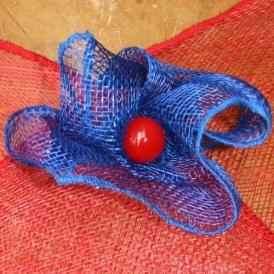 Nice - Fleur, bleu et rouge vifs