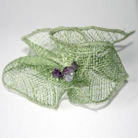 Nice - Fleur, vert amande et parme