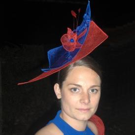 Wulfénie - Bleu et rouge vifs